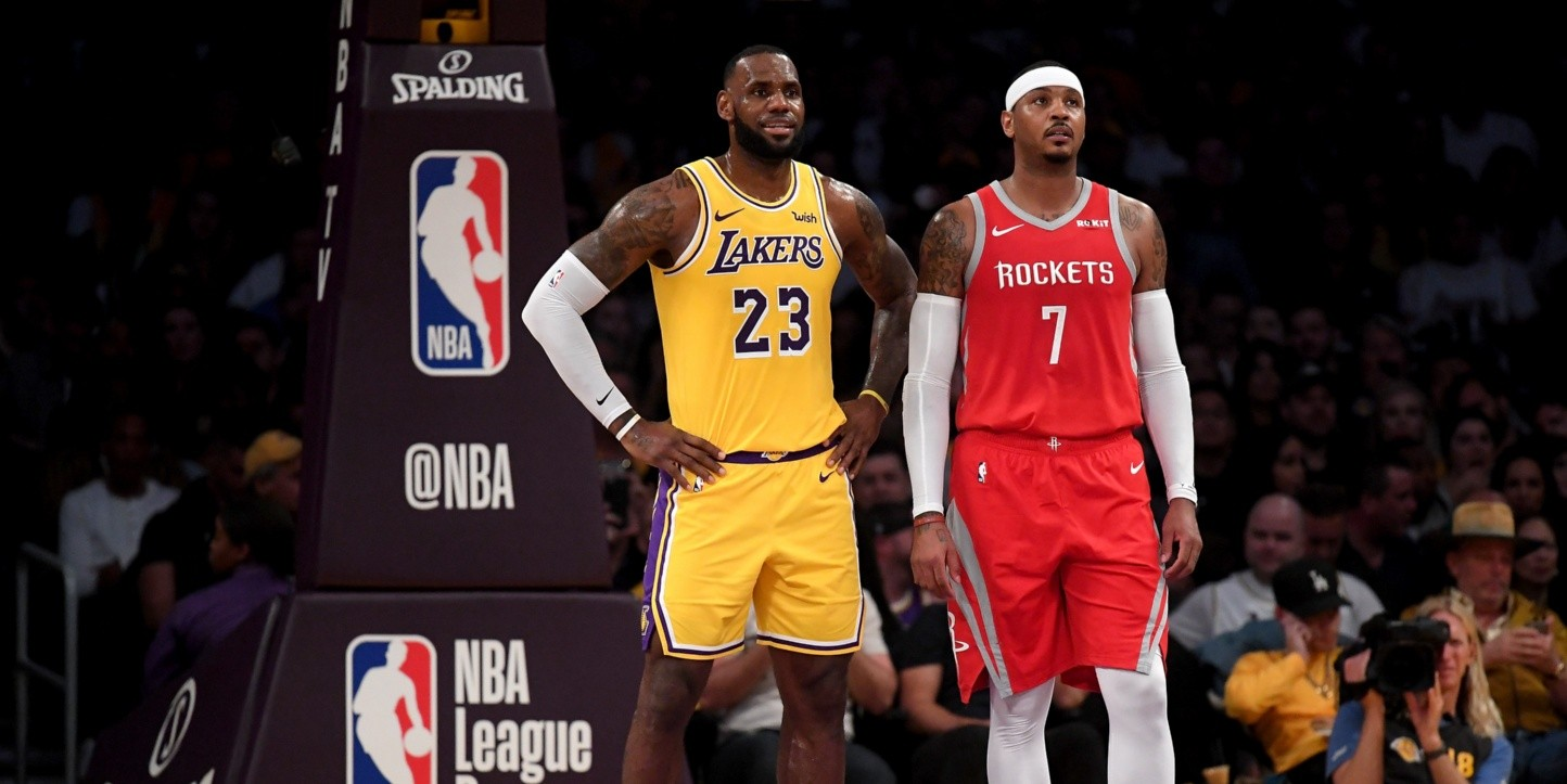 ¡Bomba! LeBron James quiere a Carmelo Anthony en los Lakers