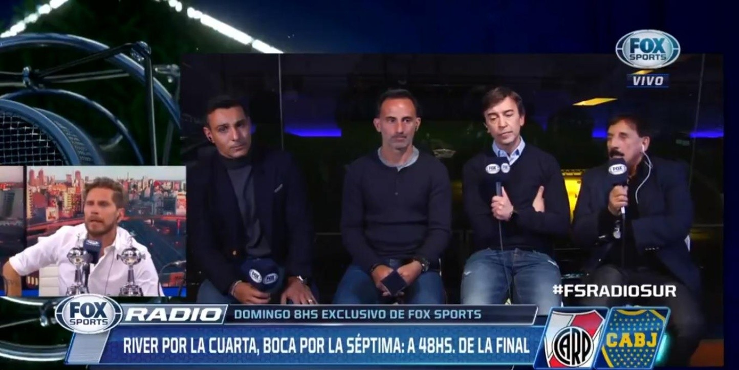 Marcelo Benedetto en Fox Sports Radio.