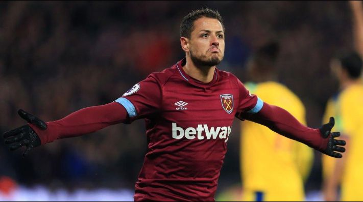 #Video Gol de Chicharito clave para la victoria del West Ham