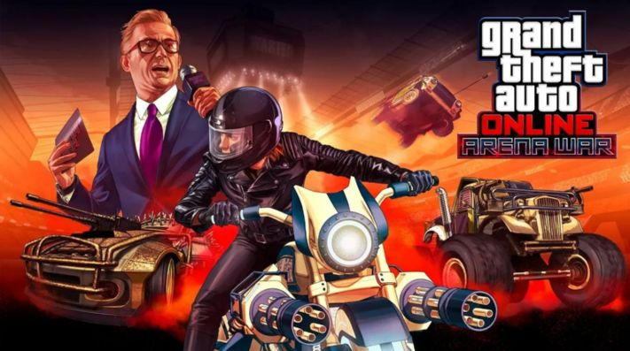 Gran Theft Auto Online estrena modo Arena War a partir de hoy