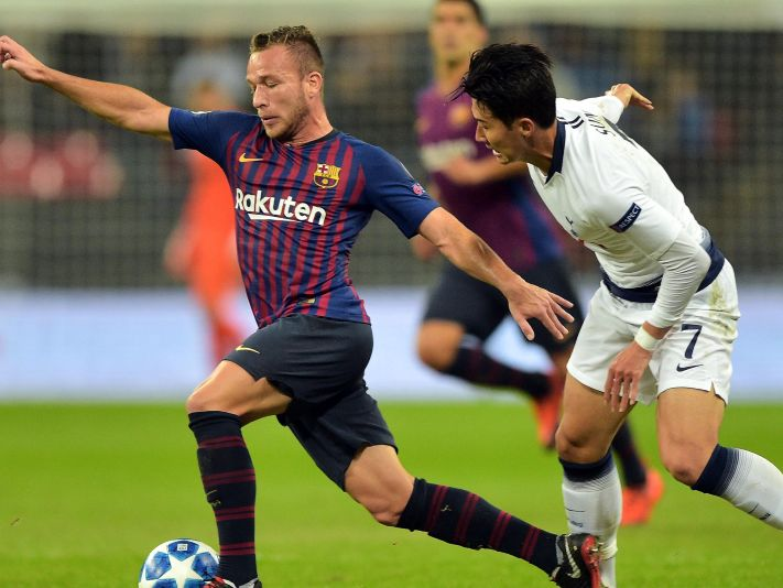 Barcelona vs Tottenham (Foto: Getty)
