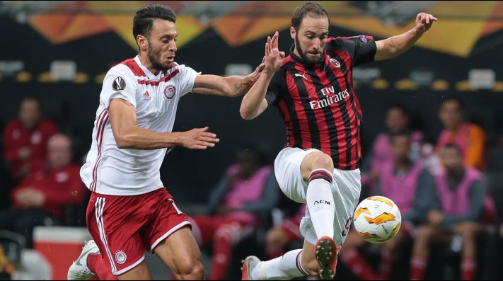 Olympiacos vs Milan (Foto: Getty)