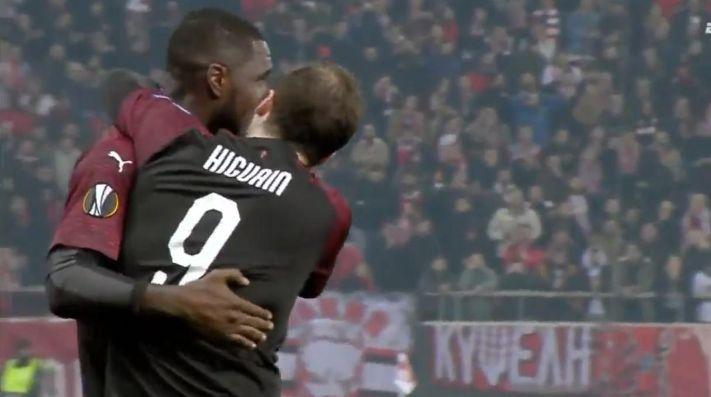 Milan se dio un tortazo ante Olympiakos en la fase de grupos