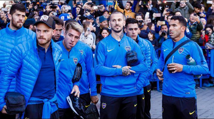 La delegación de Boca sufrió un robo durante su estadía en Madrid