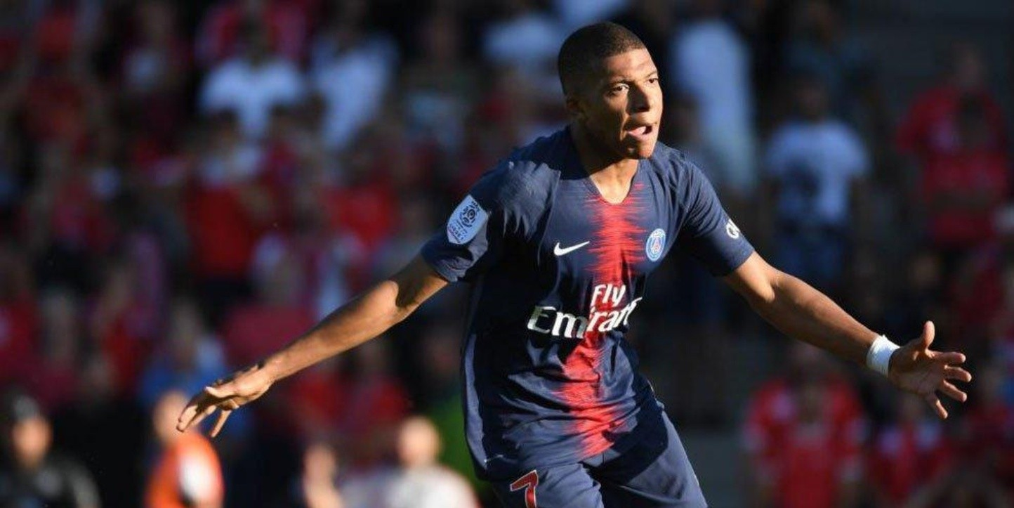 Kylian Mbappé en Paris Saint-Germain.