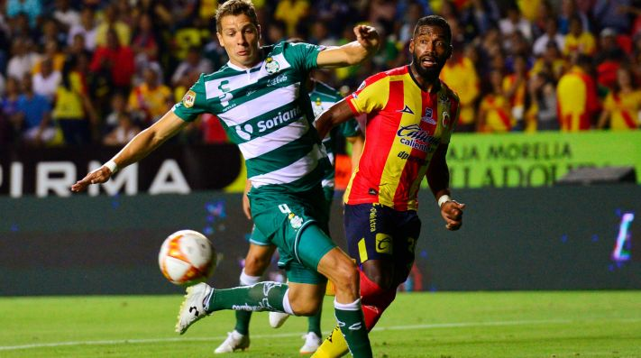 Santos Laguna vs Morelia (Foto: Getty)