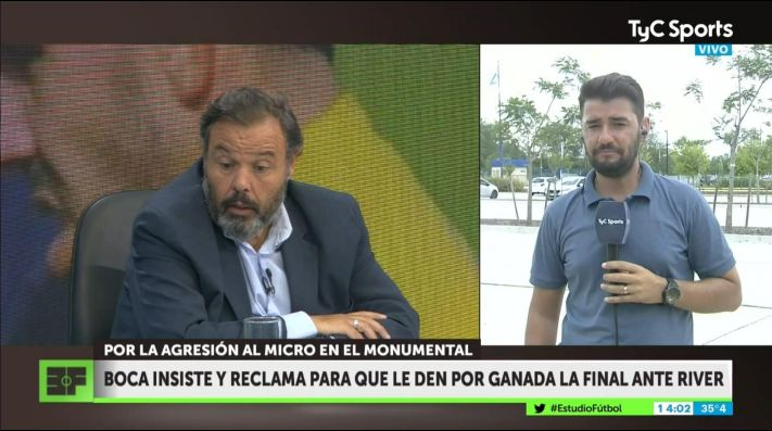 TyC Sports: Boca insiste con quitarle la Copa Libertadores a River