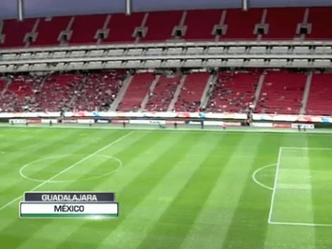 Muy baja asistencia en el Akron para el partido de Copa MX