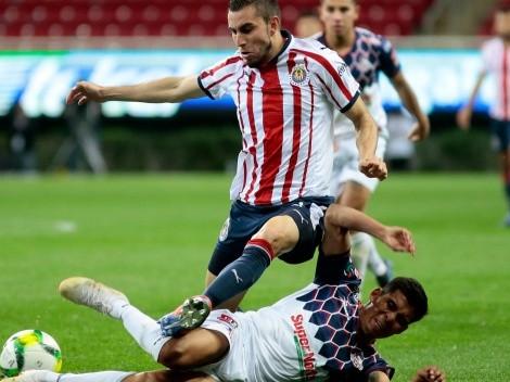 Chivas salvó el empate en un segundo tiempo para olvidar