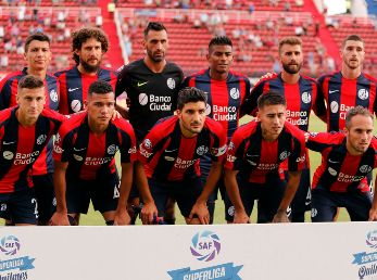 San Lorenzo vs Newell's por la Superliga.