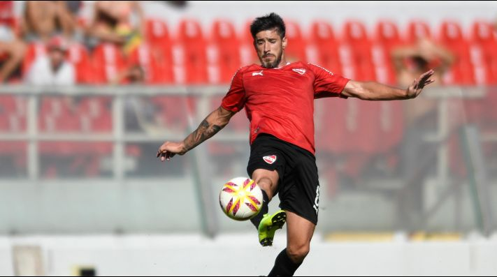San Martín de San Juan vs Independiente por la Superliga.