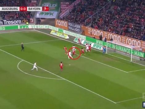 Saque del medio, carambola y gol en contra para que sufra Bayern Munich