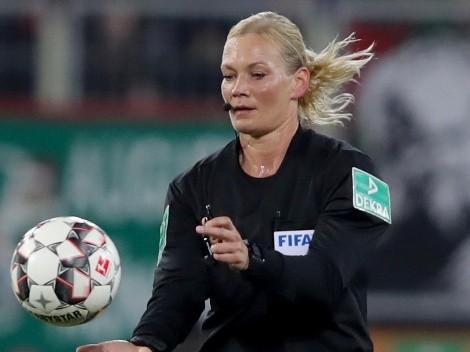 Cancelaron la transmisión del partido del Bayern porque lo arbitró una mujer