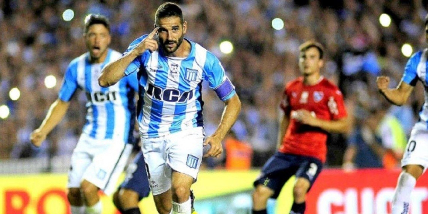 Independiente vs Racing por la Superliga.