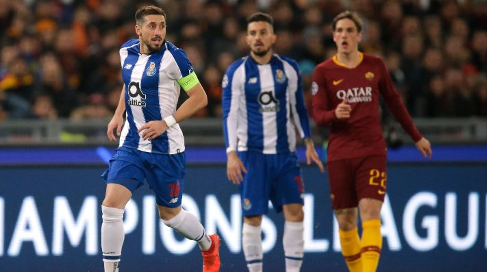 Porto vs Roma por la Champions League.