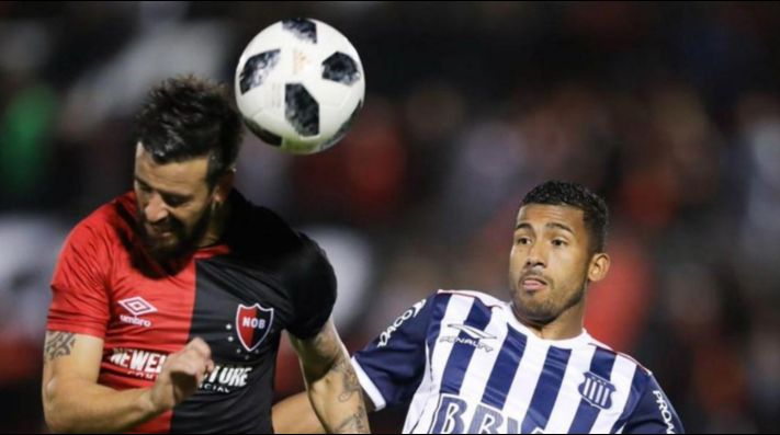 Newell's vs Talleres por la Superliga.
