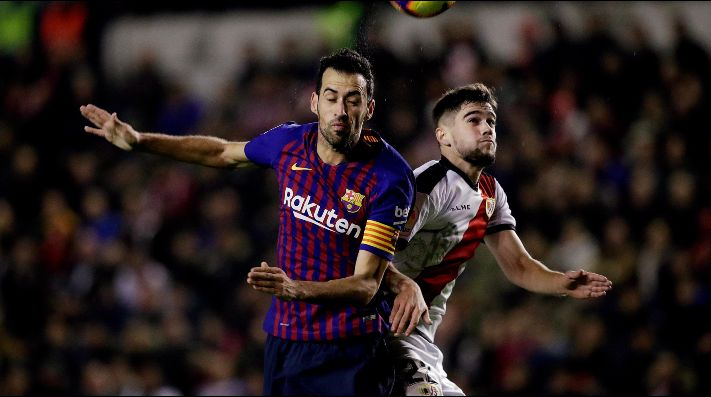 Barcelona vs Rayo Vallecano