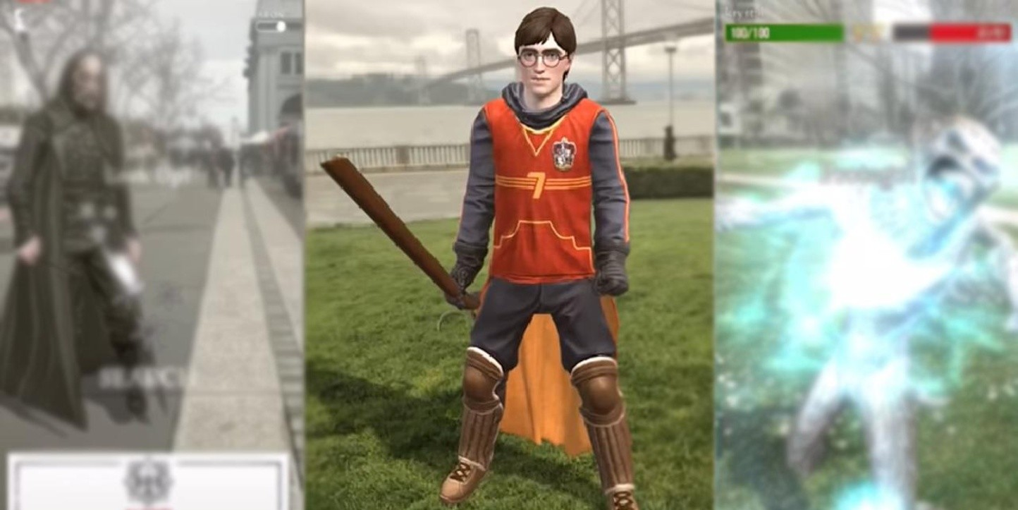 Primera vista del juego Harry Potter: Wizards Unite para móviles