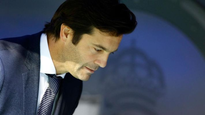 Santiago Solari en Real Madrid.