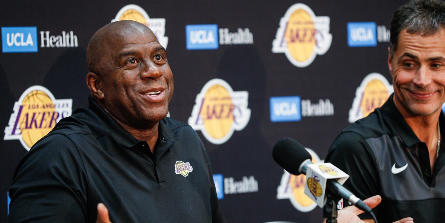 Magic Johnson ignoró a dos jugadores que pudieron haber salvado a los Lakers