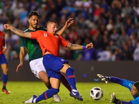 La Selección chilena convocó a cinco jugadores de la Liga MX para enfrentar a México