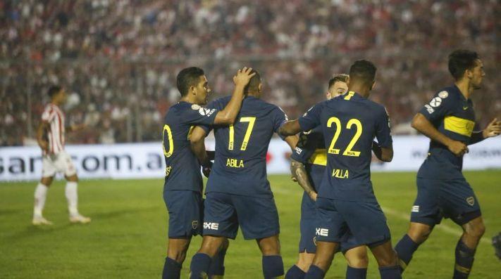Boca goleó a San Martín de Tucumán y lo mandó al descenso ...