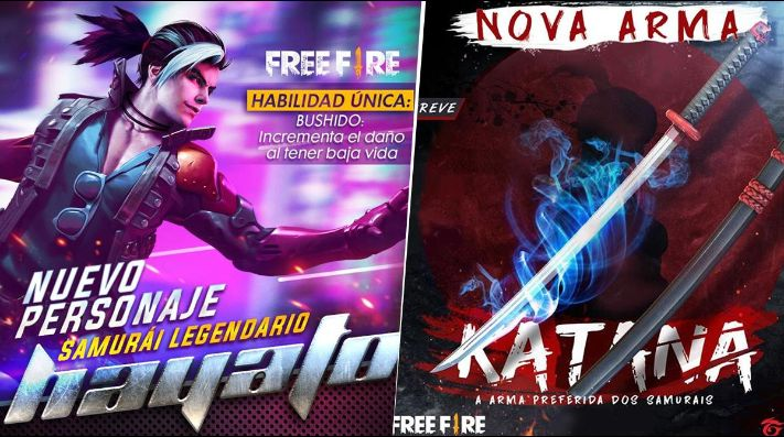 Hayato El Samurai Legendario Es El Nuevo Personaje De Free Fire