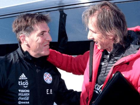 El Tigre Gareca reconoció que el duelo ante Paraguay tendrá a un viejo conocido