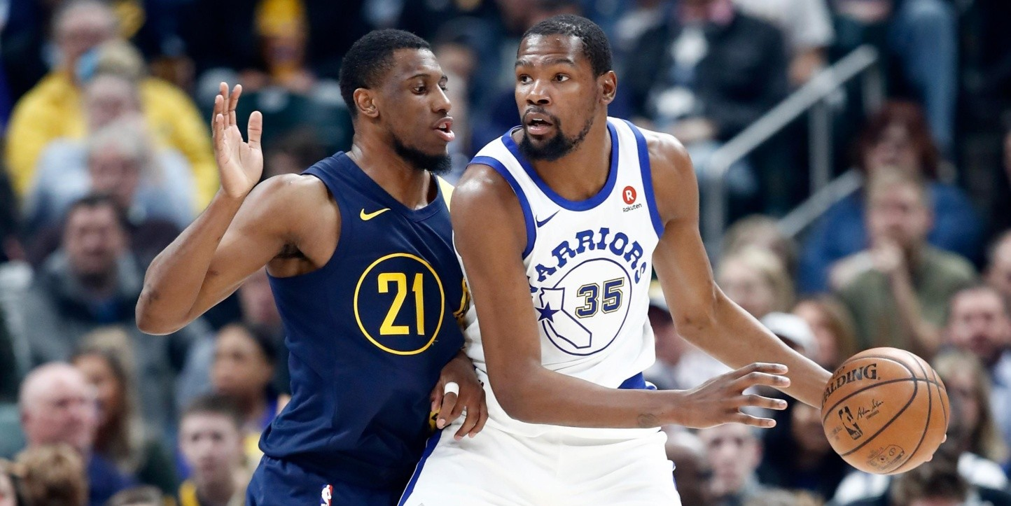 Thaddeus Young, Kevin Durant (Foto: Getty)