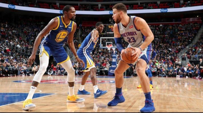 Kevin Durant y Blake Griffin