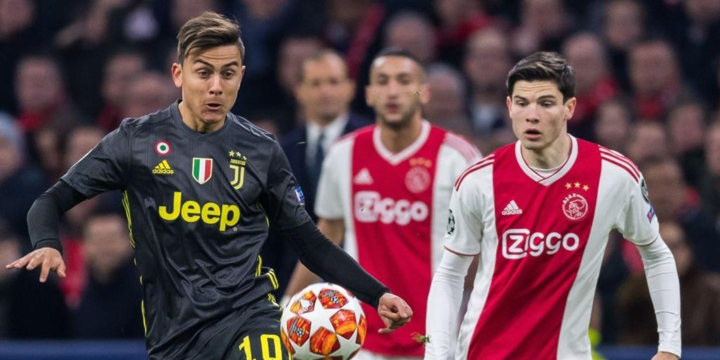 Juventus vs Ajax por la Champions League.