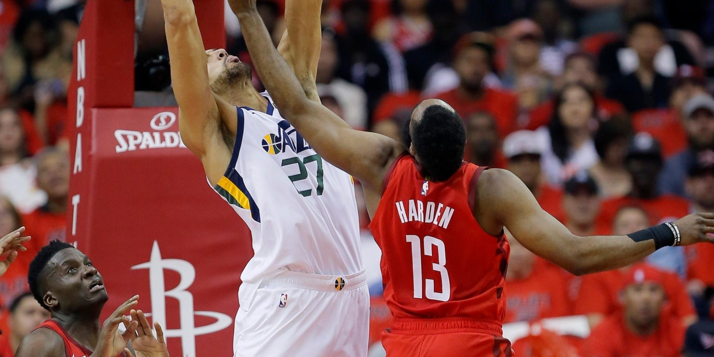 Rudy Gobert, James Harden (Foto: Getty)