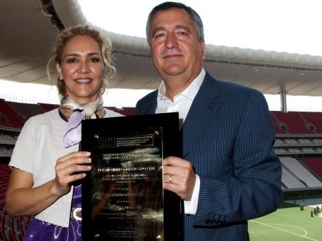 Angélica Fuentes se refirió al estado de salud de Jorge Vergara