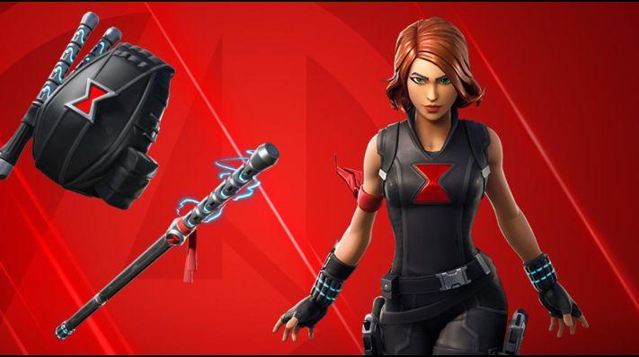 Filtrada la skin de Black Widow en Fortnite