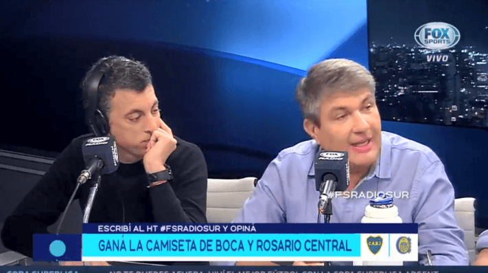 En el debate de Fox Sports tiró: