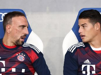 Franck y James en el Bayern.