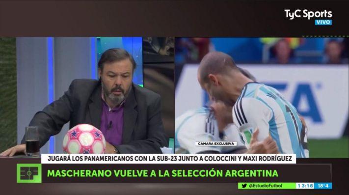 Estudio Fútbol: Mascherano, Maxi Rodríguez y Coloccini vuelven a jugar a la Selección Argentina