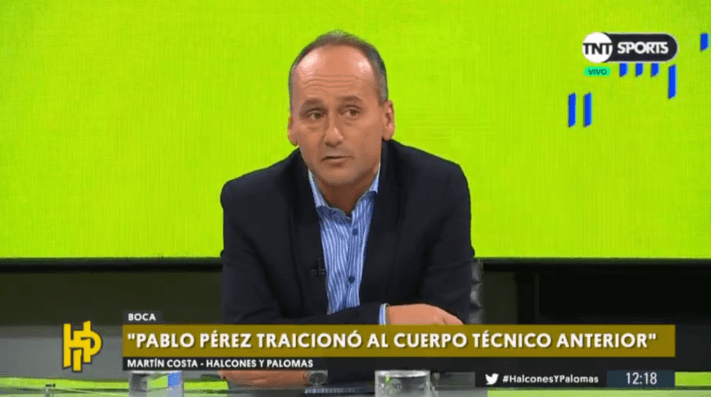 Martín Costa en TNT Sports: