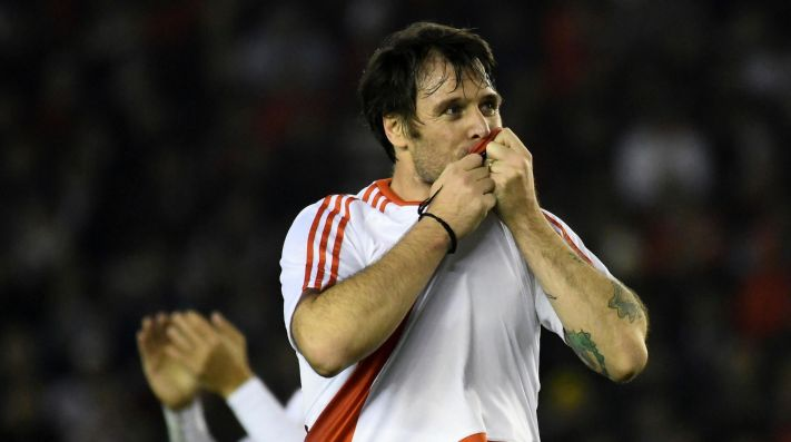 A Cavenaghi le preguntaron si quería un River-Boca en octavos de la Libertadores y tiró: