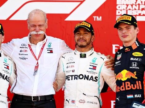 Mercedes sigue haciendo historia en la Fórmula 1 conquistando el Gran Premio de España