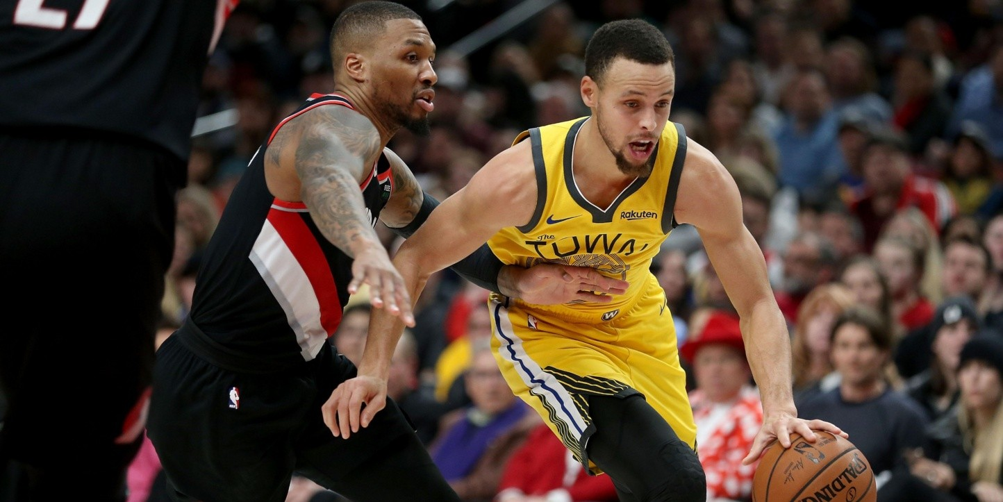 Damian Lillard, Stephen Curry (Foto: Getty)