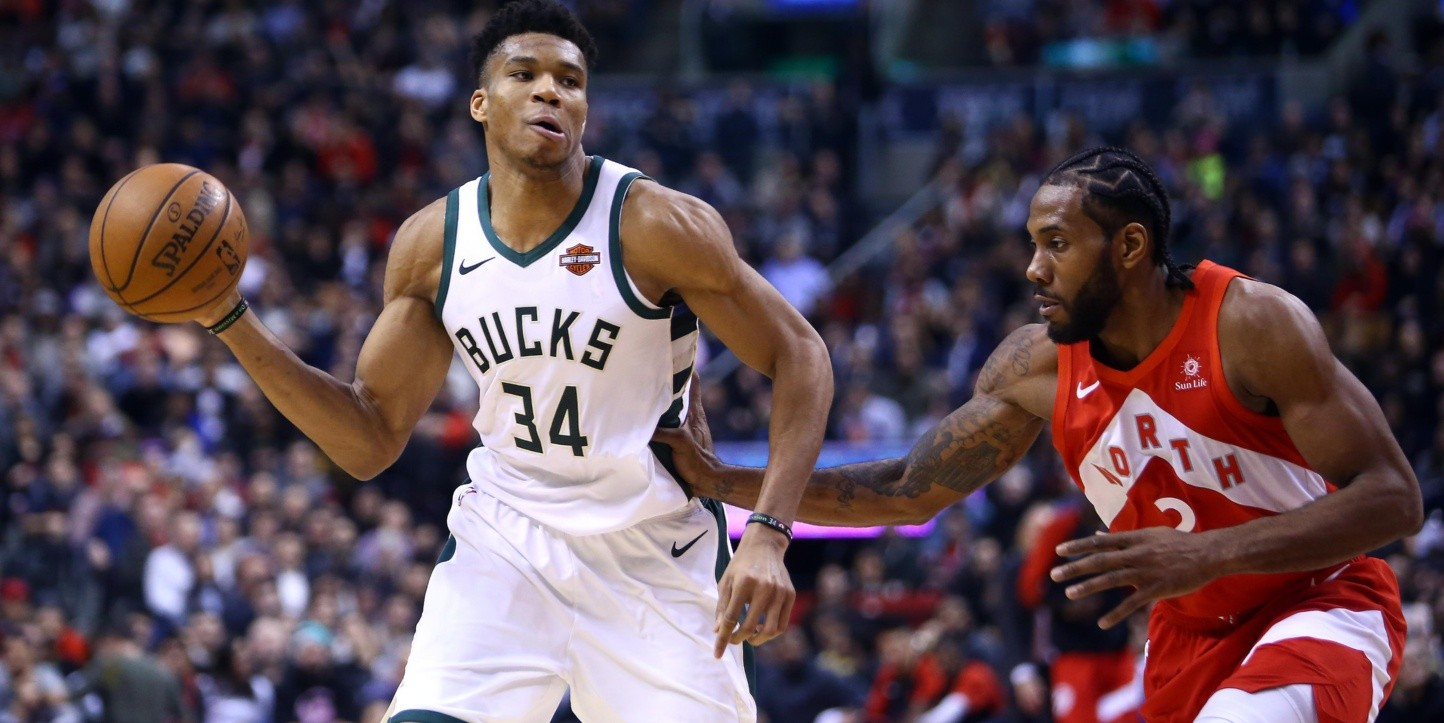 Giannis Antetokounmpo, Toronto Raptors (Foto: Getty)