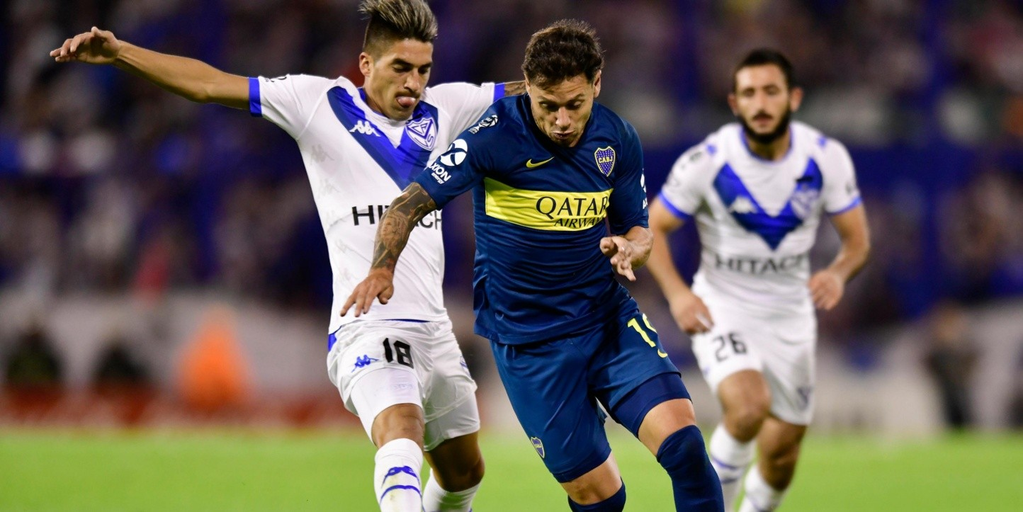Boca Juniors vs Vélez Sarsfield (Foto: Getty)
