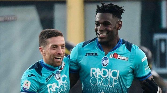 alejandro gomez y duvan zapata, Serie A