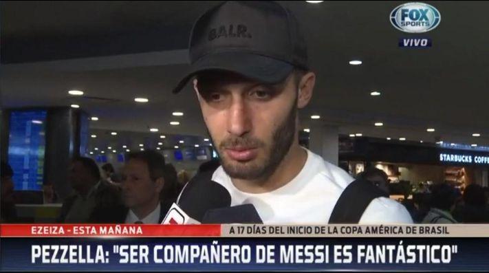 Uno que se sacó el casete: Pezzella afirmó que Argentina no es candidata para la Copa América