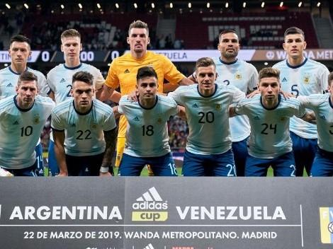 Scaloni confirmó los once de la Selección Argentina ante Nicaragua