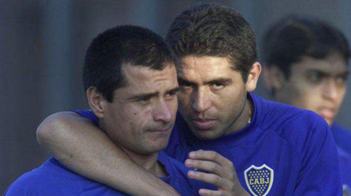Román y el Chelo Delgado juntos.
