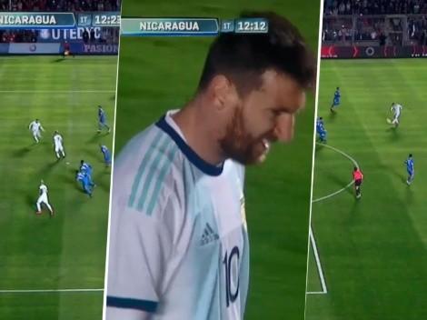 Ay, Lio: Lo Celso le dio el pase que tanto le piden pero Messi le pegó horrible