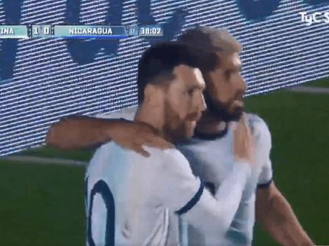 El segundo en dos minutos: Messi anticipó a todo Nicaragua y puso el 2-0