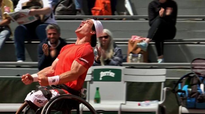 ¡Gustavo Fernández gritó campeón en Roland Garros!